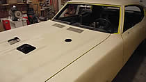 72 Buick GS restoration picture 2